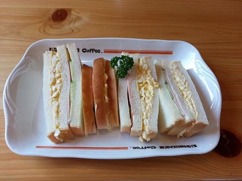 珈琲所 コメダ珈琲店 伊丹昆陽店 でモーニングをいただきました。