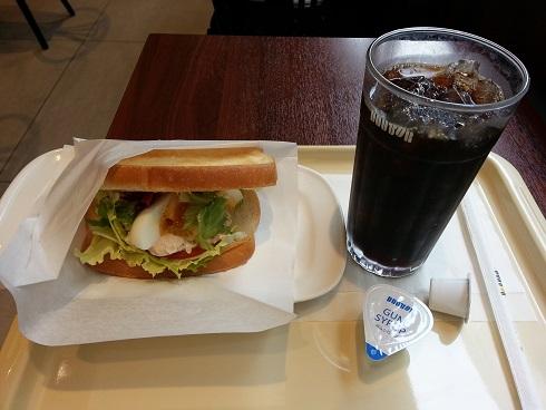 川西能勢口のドトールコーヒーでモーニングはいかが