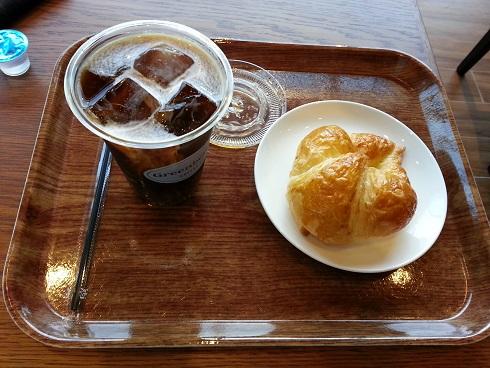 Greenberry's  COFFEE 宝塚劇場前店 でモーニングしました。