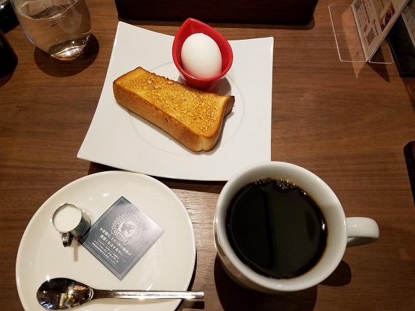 宝塚市の「むさしの森珈琲」でモーニング・第二弾