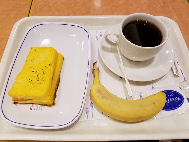 VIE DE FRANCE(ヴィ・ド・フランス) ビエラ塚口店(尼崎)にてパン・モーニングです