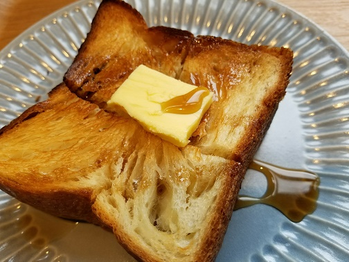 箕面デニッシュ サトウカエデでパン・ランチ