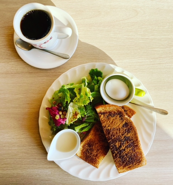 ふわふわパンケーキの「さかい珈琲」西宮市高須町でモーニング!